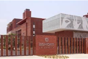 Ashoka University, Rajiv Gandhi Education City, Sonepat